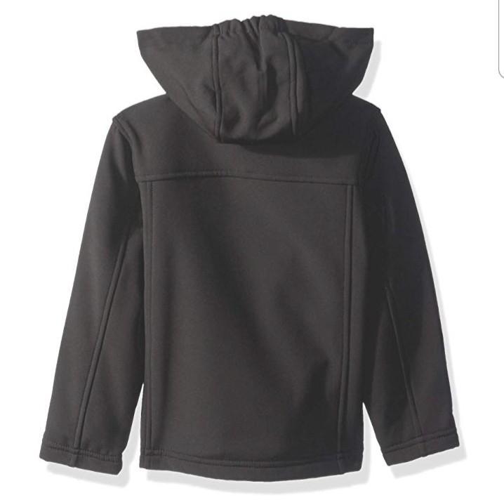 Ben Sherman Boys Toddler Black Softshell Outerwear Size 3T