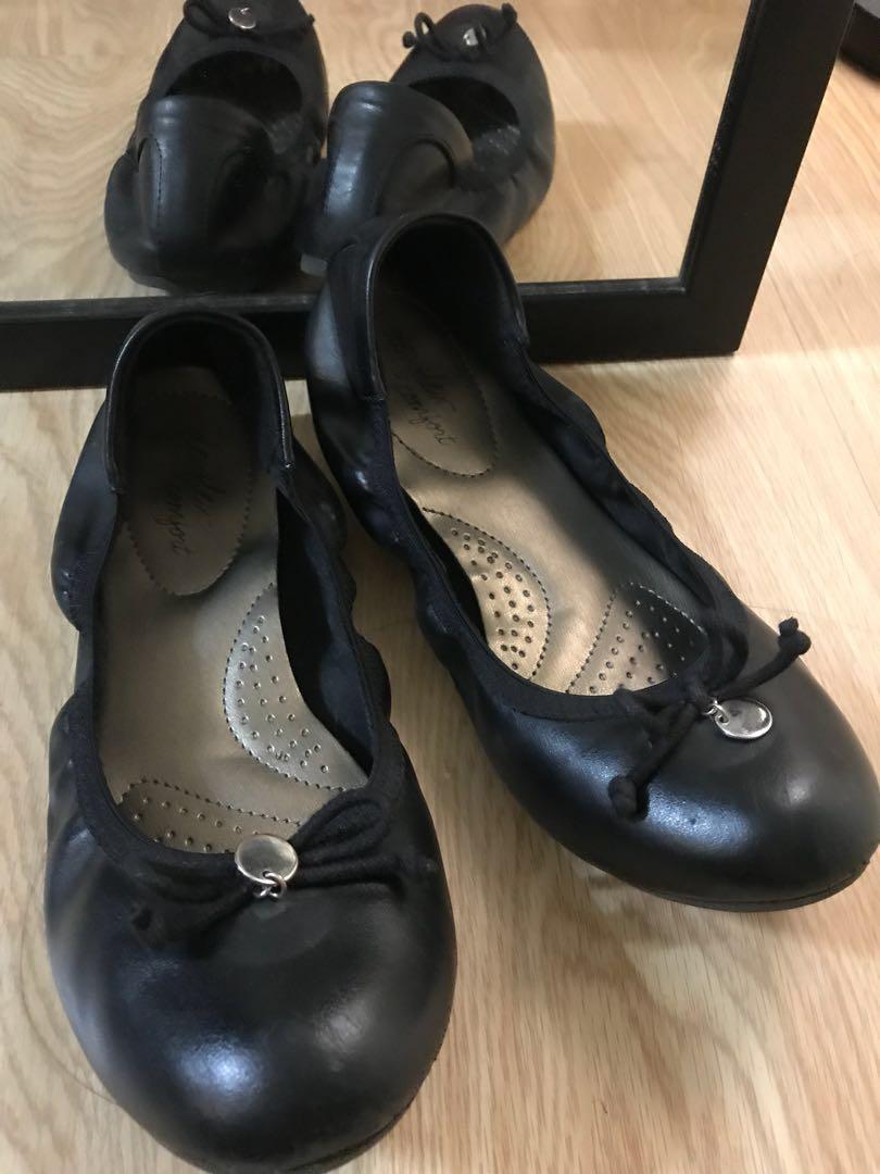 Black Ballet Flats (School Shoes