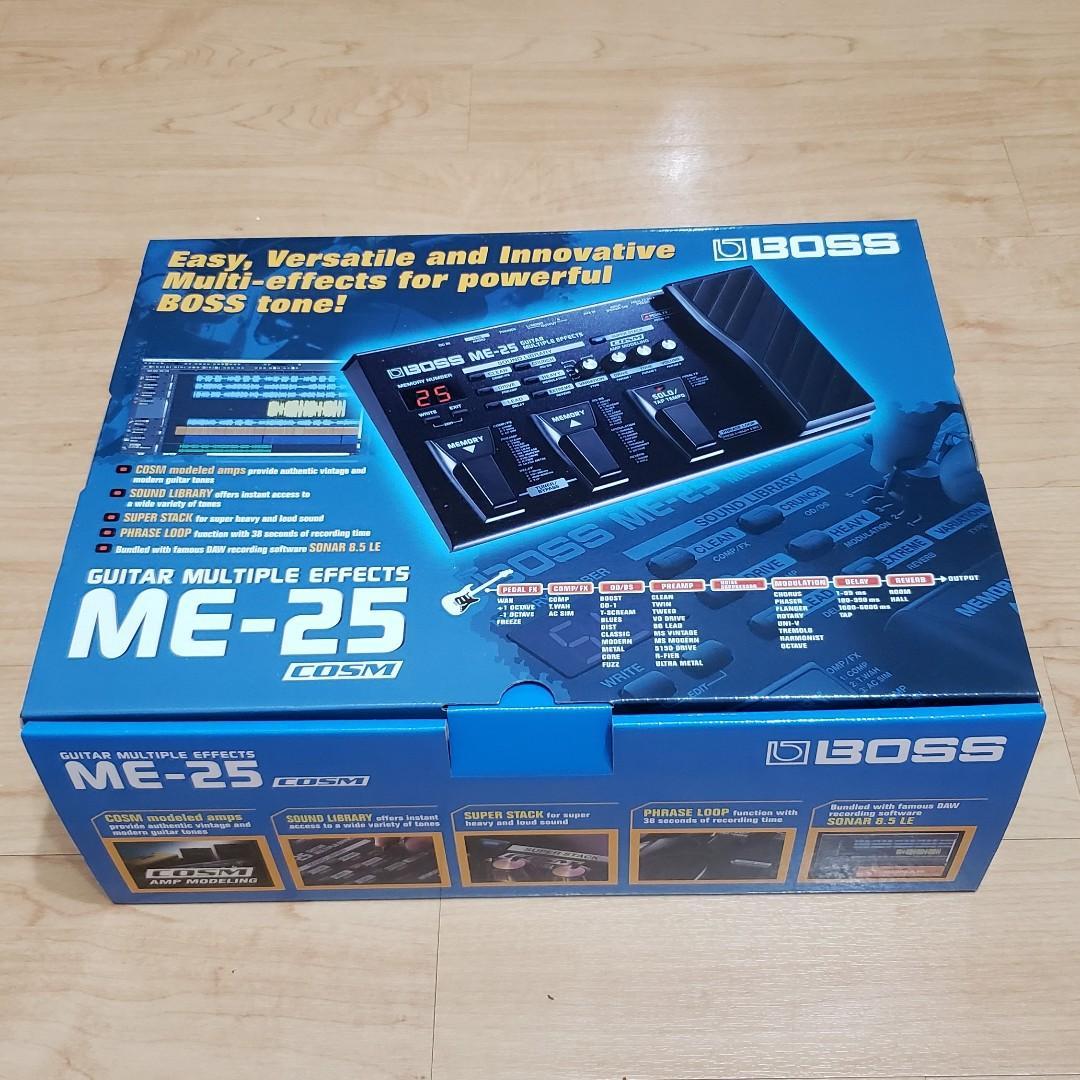 BOSS ME-25 Guitar Multiple effects 電吉他綜合效果器