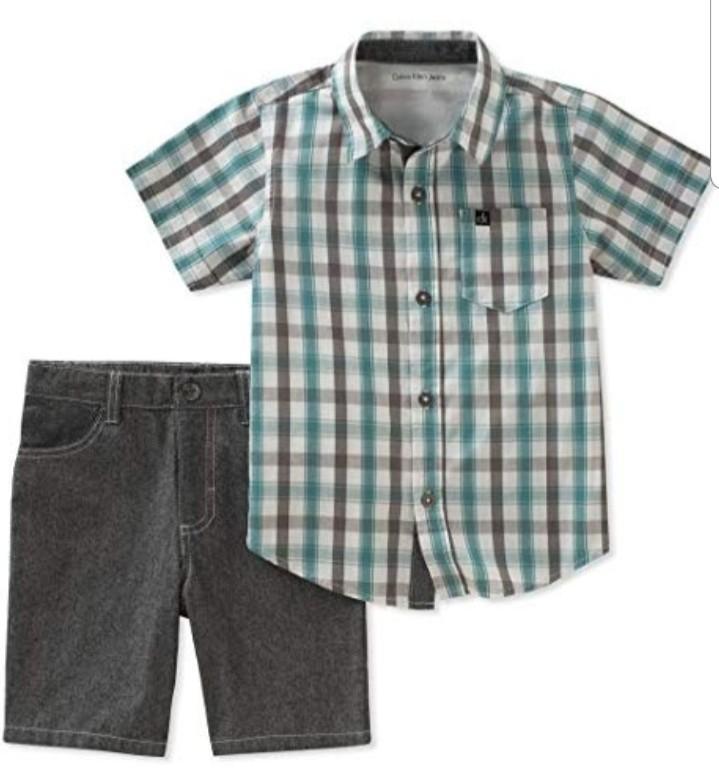 Brand New Calvin Klein baby boy 2 piece outfit Size 3-6months