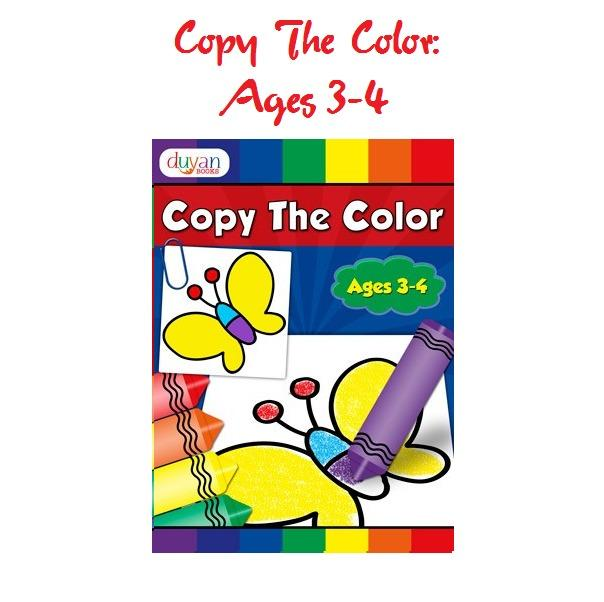BRIGHT COPY COLOR - COLORING BOOK - Activity Book, Books, Children's Books  On Carousell