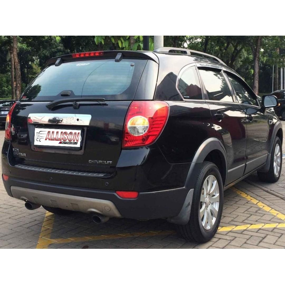 Chevrolet Captiva Diesel Facelift 2.0 AT 2011 Hitam Dp 47,9 Jt No Pol Ganjil