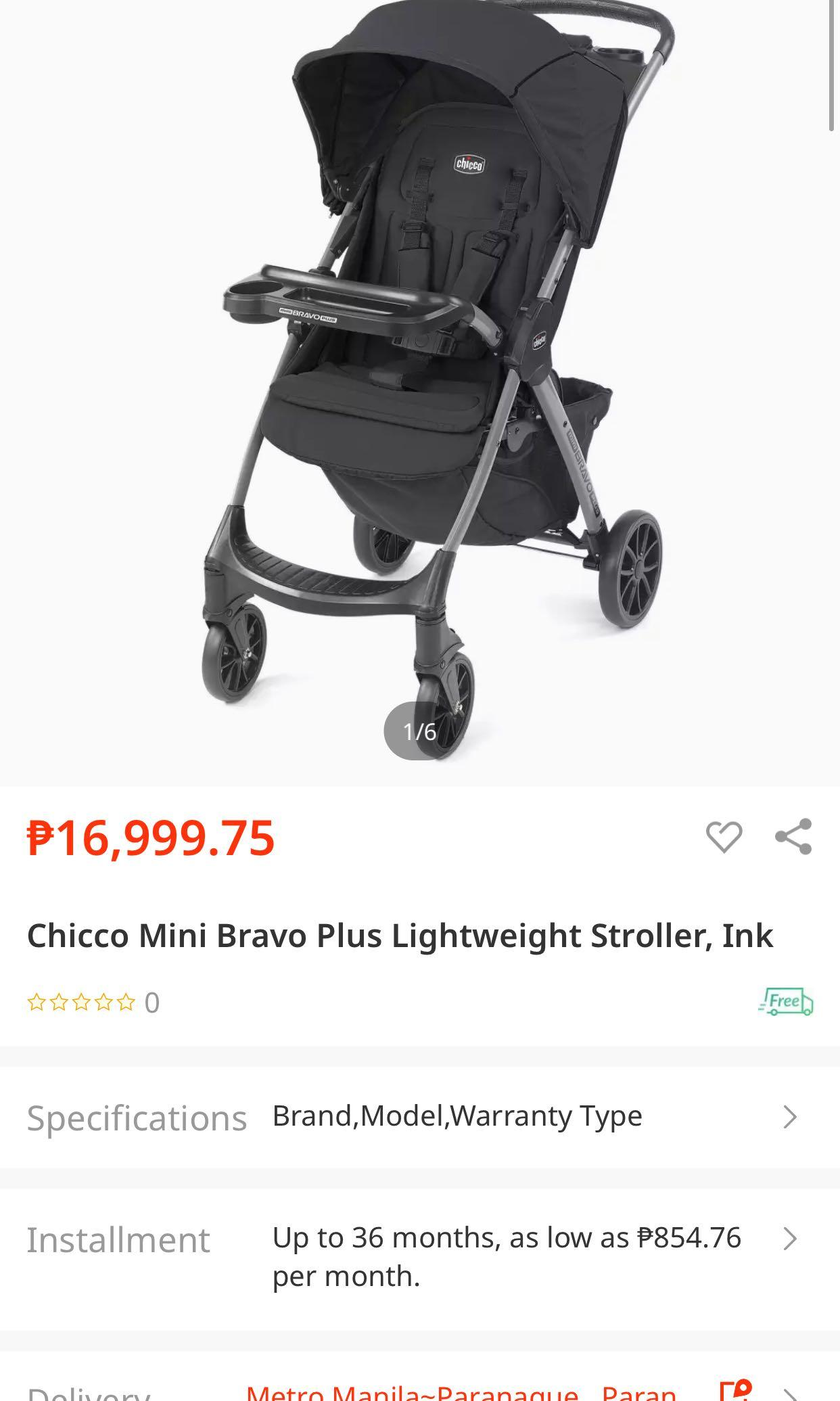 Chicco Mini Bravo Plus On Carousell