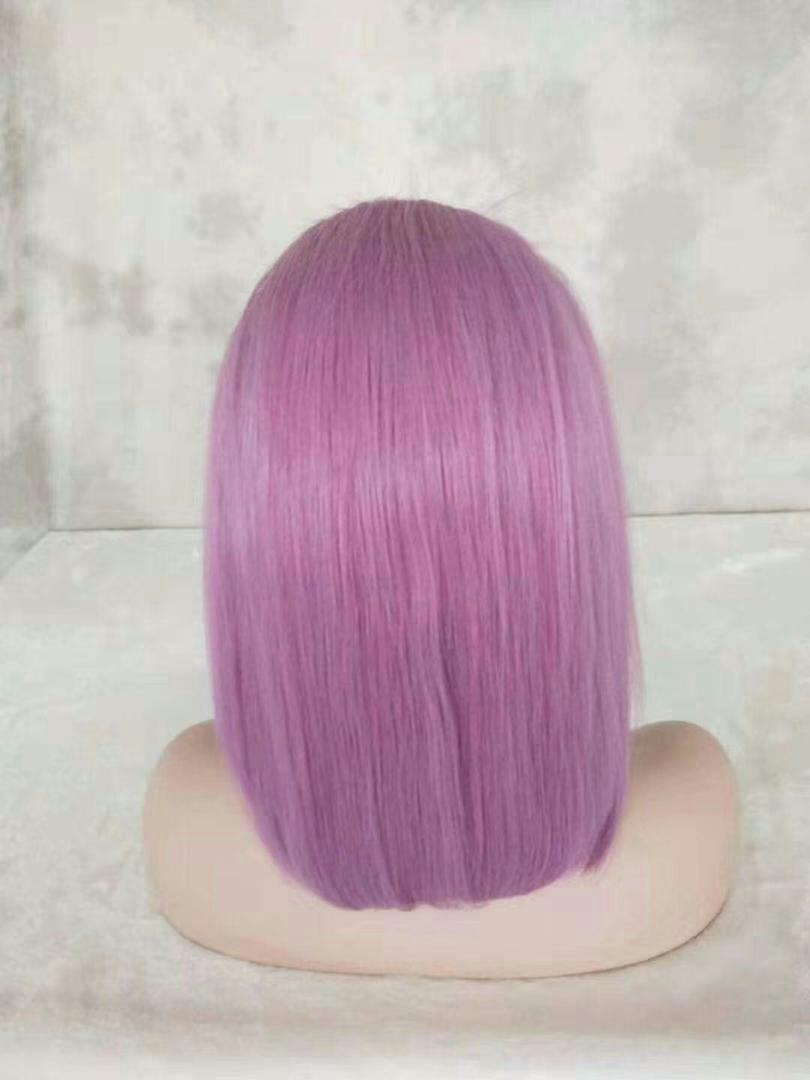 Coloured Human hair wig