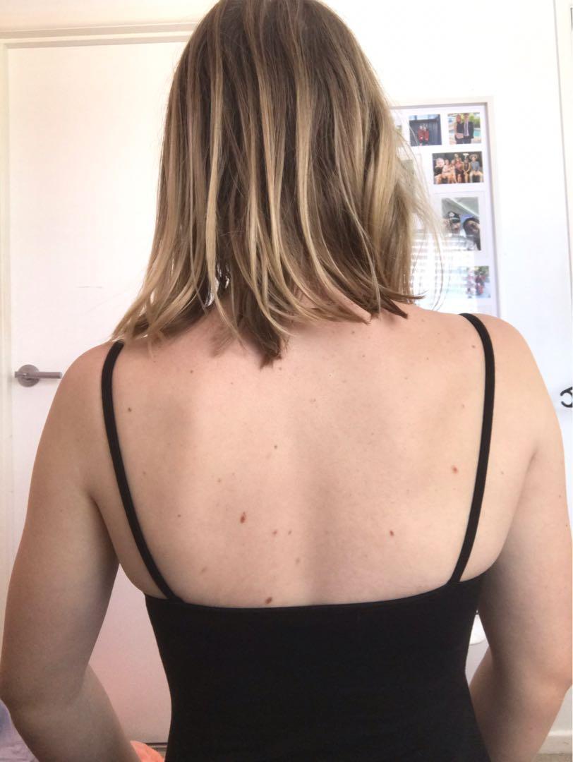 Cotton On Black Bodysuit
