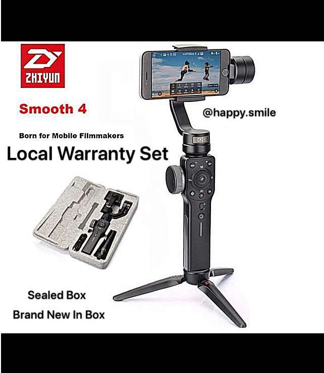 Temporary Out of Stock ) Zhiyun Smooth 4, Photography, Video