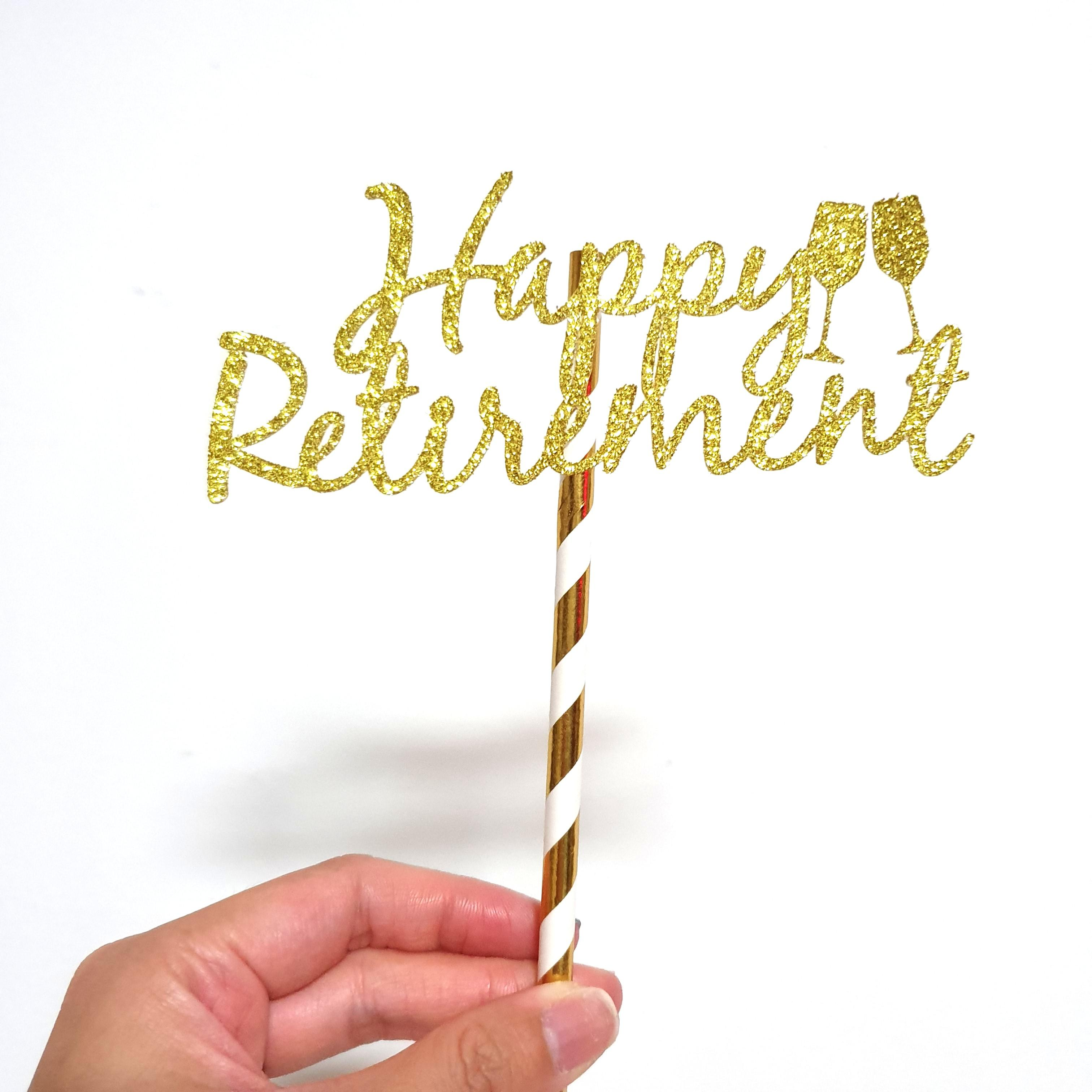 Customized Cake Topper for Celebration, Party