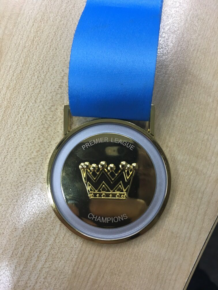 English Premier League EPL 2018/2019 Winners Medal Replica - Manchester City