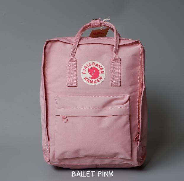 Fjallraven Kanken Ballet Pink