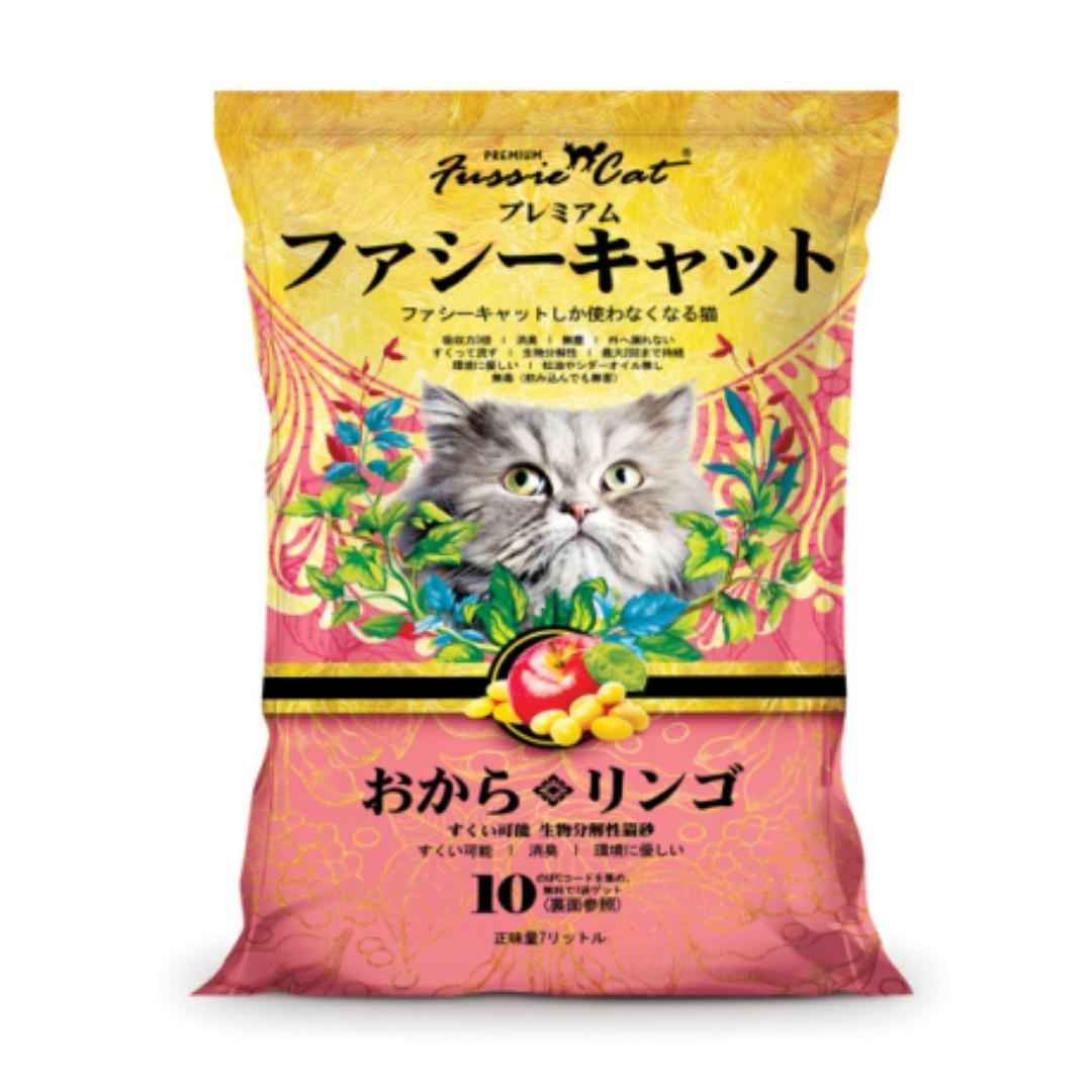 Fussie Cat 蘋果味豆腐貓砂 - 7 公升
