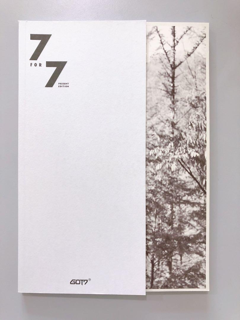 ⭐️ WTS ⭐️ GOT7 7FOR7 2nd Press [ STARRY HOUR ver. ]