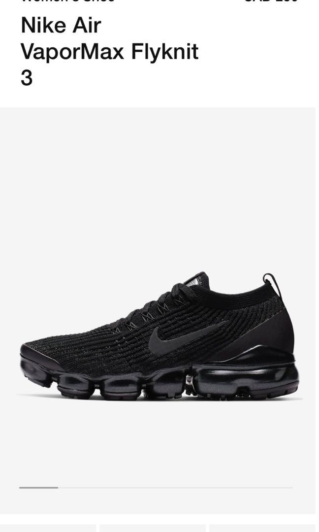 ISO: Nike Air VaporMax Flyknit 3 (Size 6)