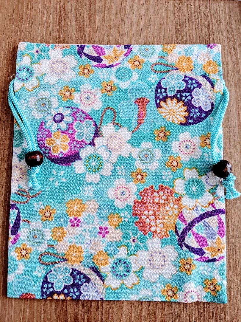 Japanese style drawstring pouch