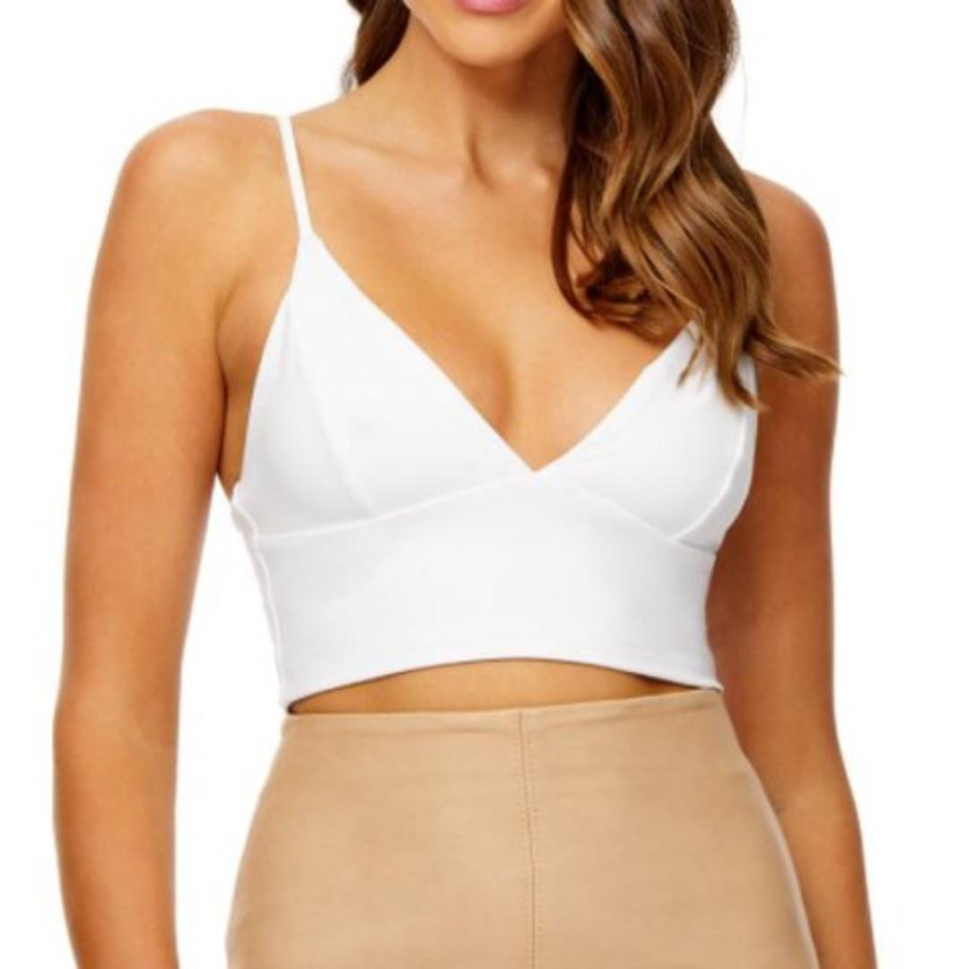 KOOKAI White Everyday Bralette (Dusty Pink Also Available)