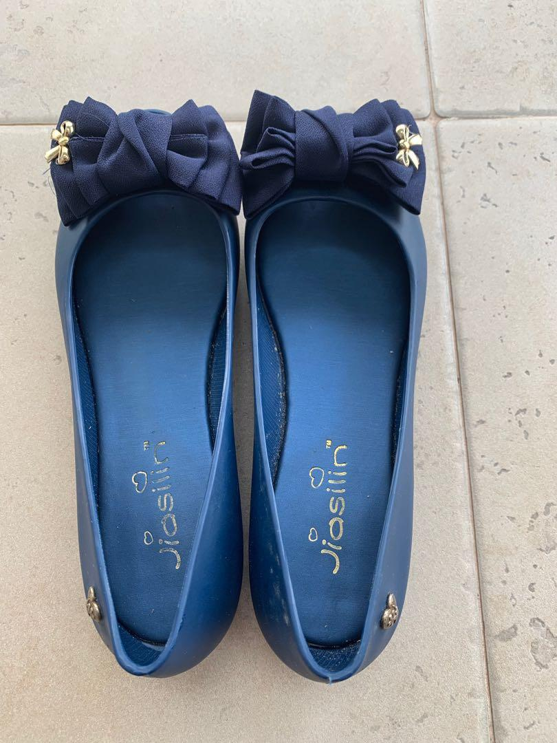 Ladies Jelly Shoes (Navy)