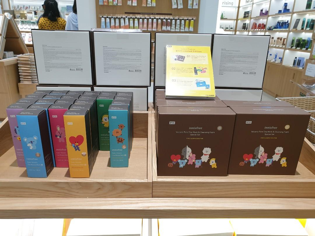 [LIMITED HOUR TODAY 12PM-2PM] Innisfree x BT21 Shopping Service (3/7) -CLOSED-