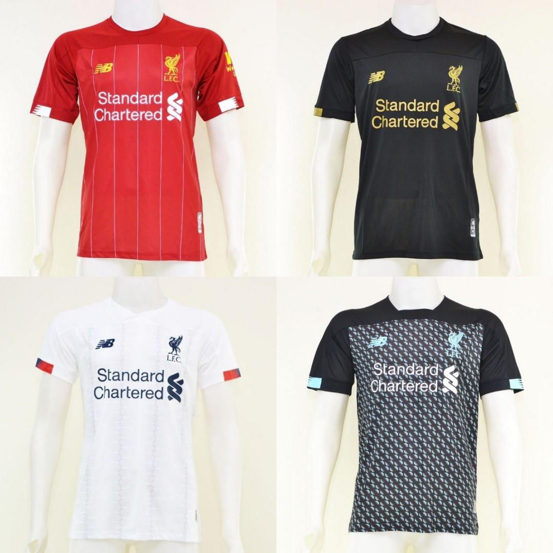 brand new 1405c ccb5e Liverpool New Season 19/20 Home Away Third Keeper Kit ...