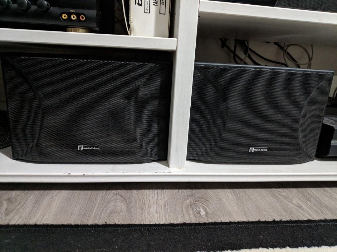 Verwonderend Martin Roland speakers Mk602, Electronics, Audio on Carousell TY-67