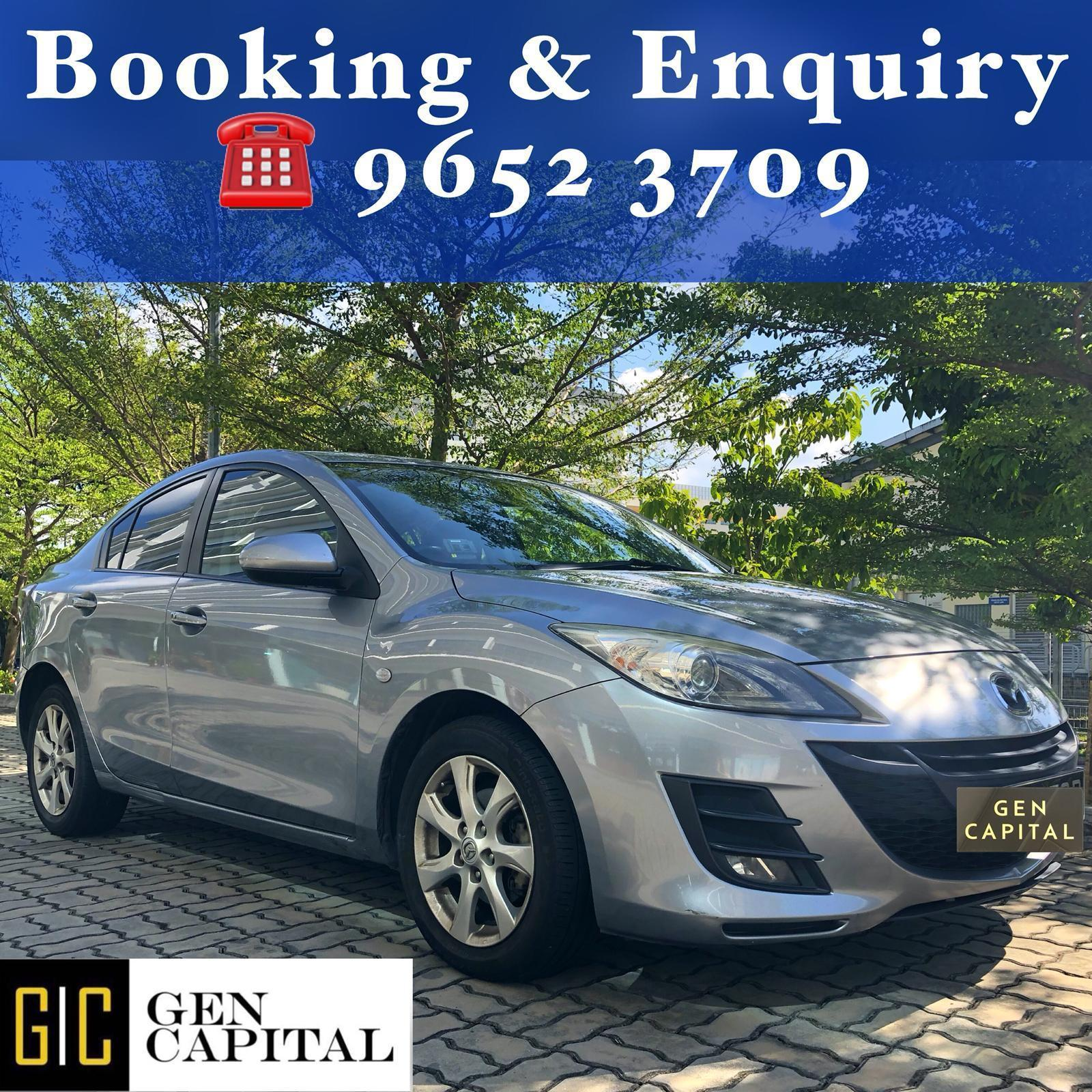 Mazda 3 1.6A Luxury • Lowest rental rates, excellent condition!