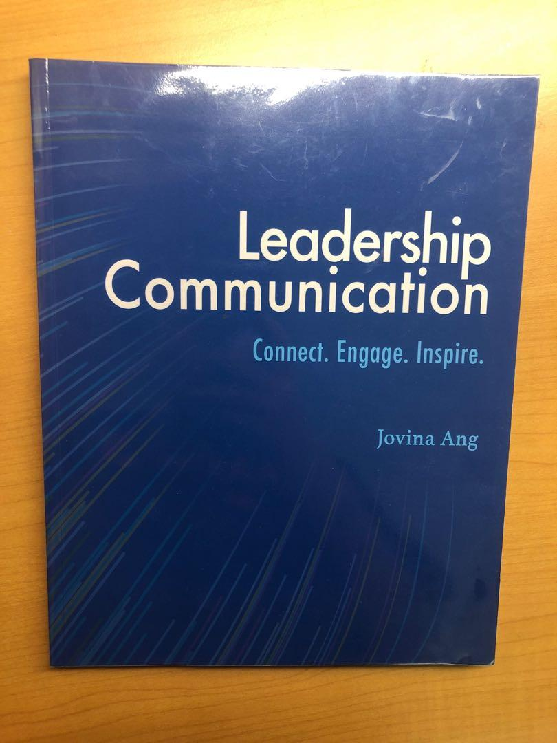 MNO2706 Leadership communication textbook NUS business