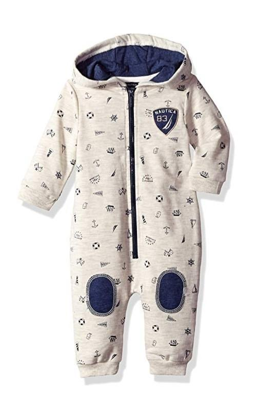Nautica Baby Boys/Girls Coverall/Romper 3-6months, 6-9months