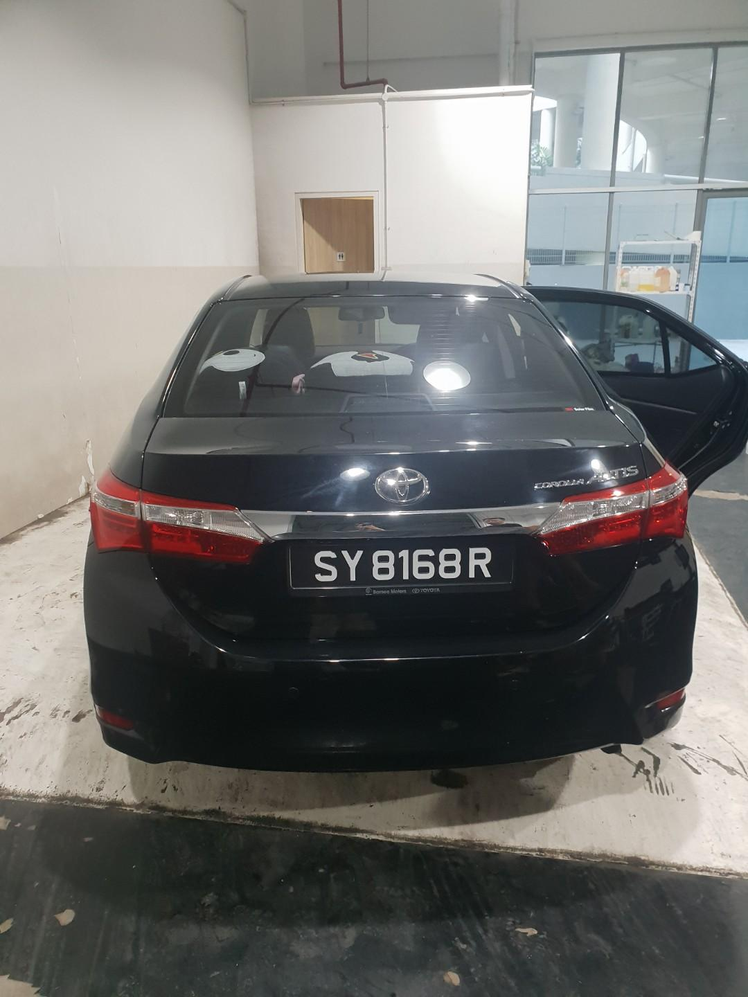 New altis toyota for rent