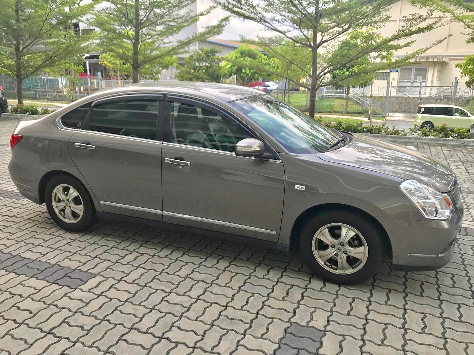 Nissan Sylphy 1.5A • Lowest rental rates, excellent condition!