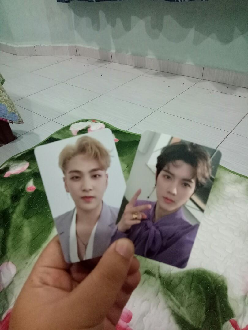 nuest happily ever after with ren & baekho pc + preorder benefits