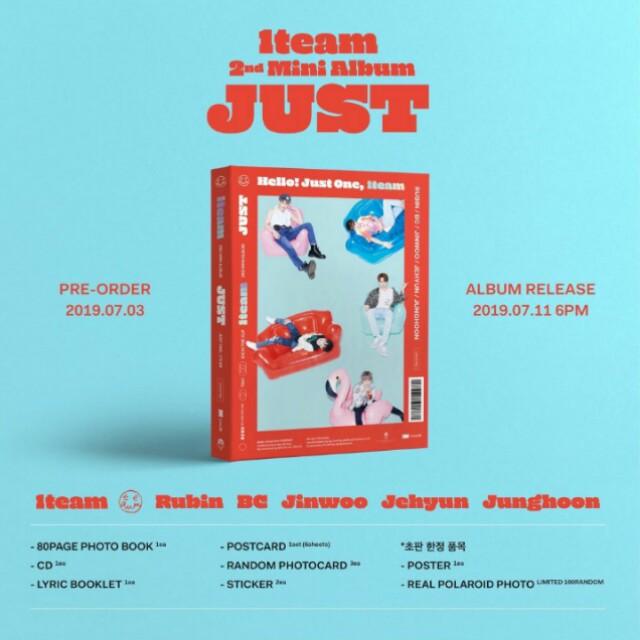[PO] 1Team 'Just' Album