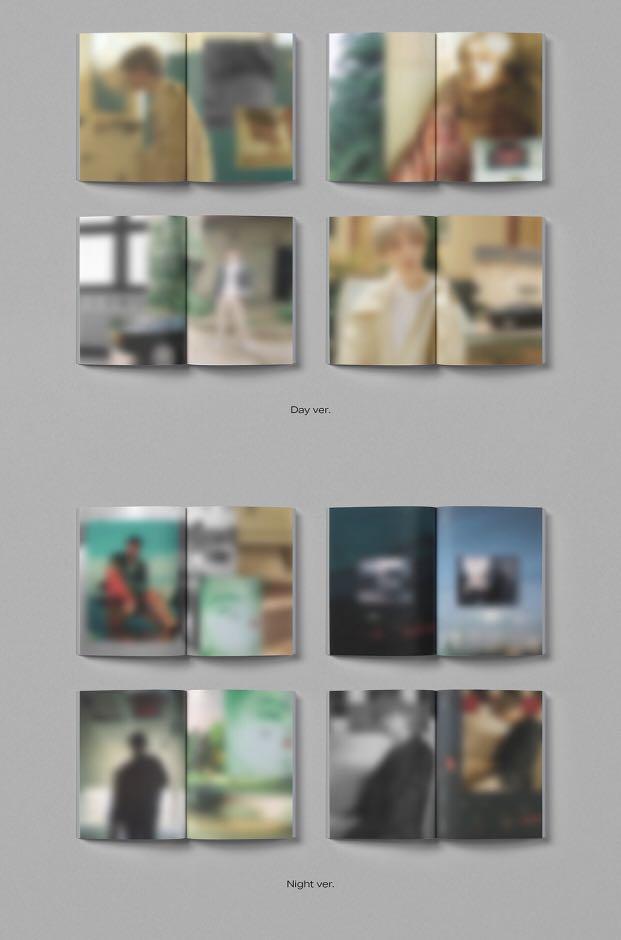 [Pre-order] BAEKHYUN 백현 (1ST MINI ALBUM 미니앨범) - CITY LIGHTS (DAY ver.    NIGHT ver.)