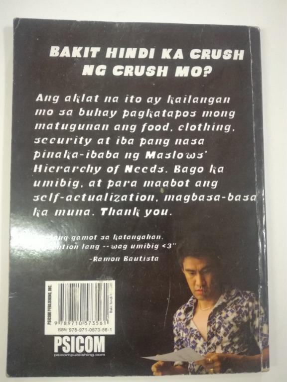 2 PCS SET PSICOM Books (Bakit hindi ka crush ng crush mo) (men are from qc women are from alabang)