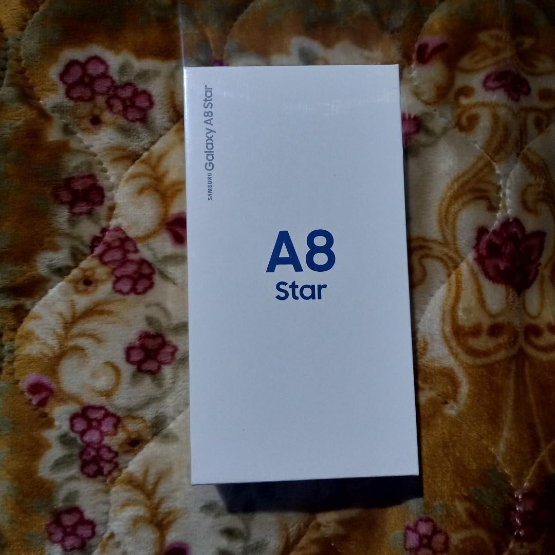 Samsung Galaxy A8 Star 4gb/64gb putih