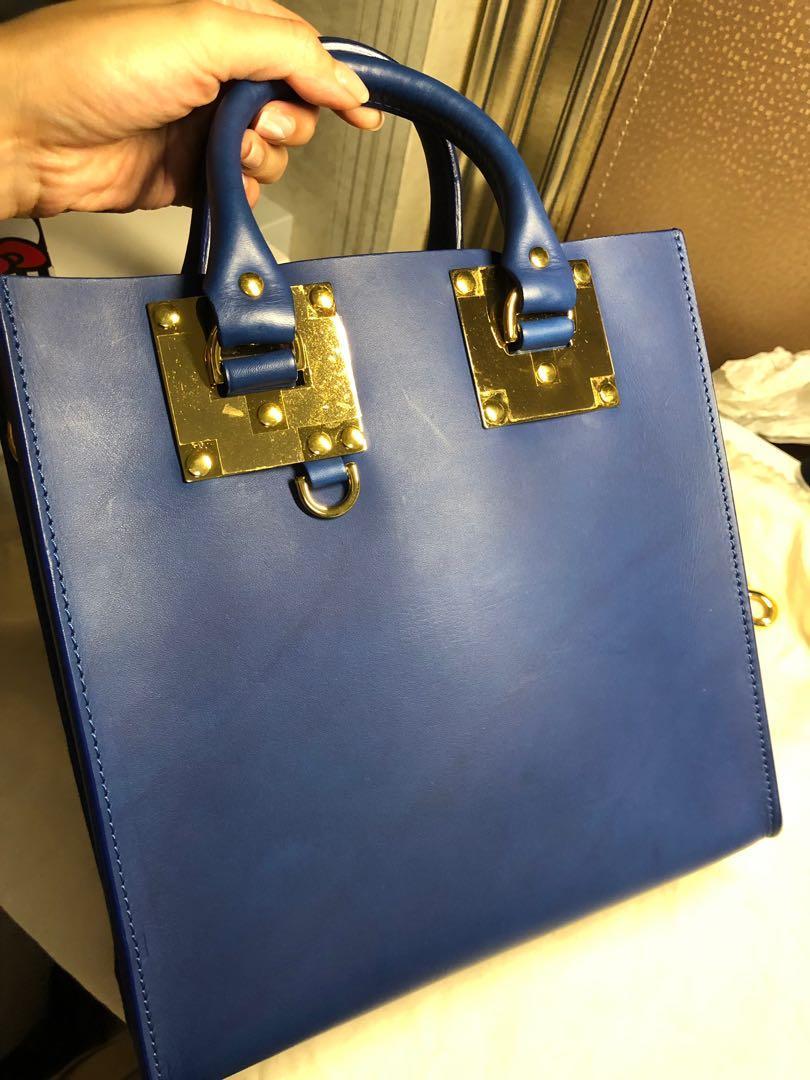 Sophie Hulme bag 寶藍色