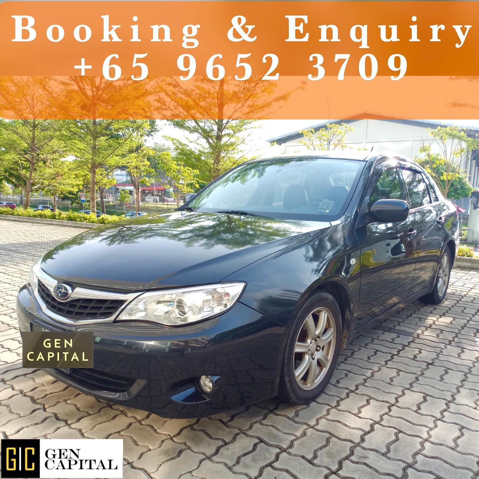 Subaru Impreza 1.5A Sedan • Grab Gojek Ryde Tada & Non PHV Car Rental