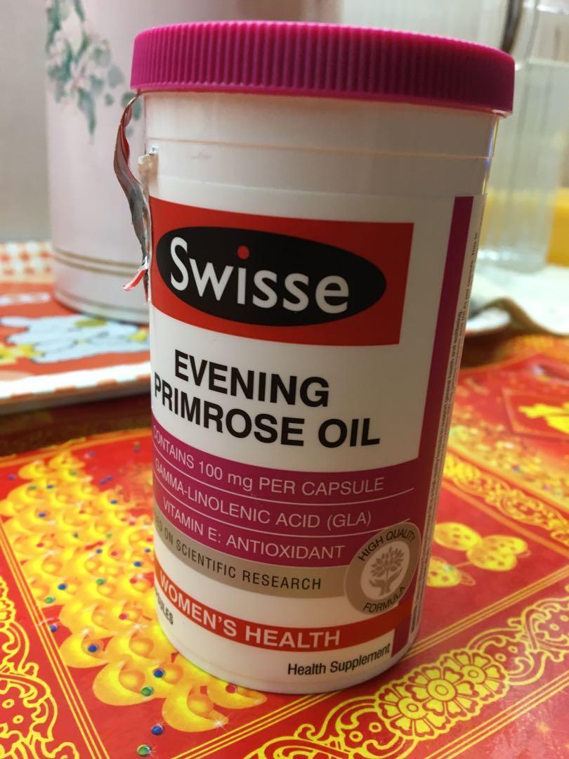 Swisse evening primrose oil 月見草油丸
