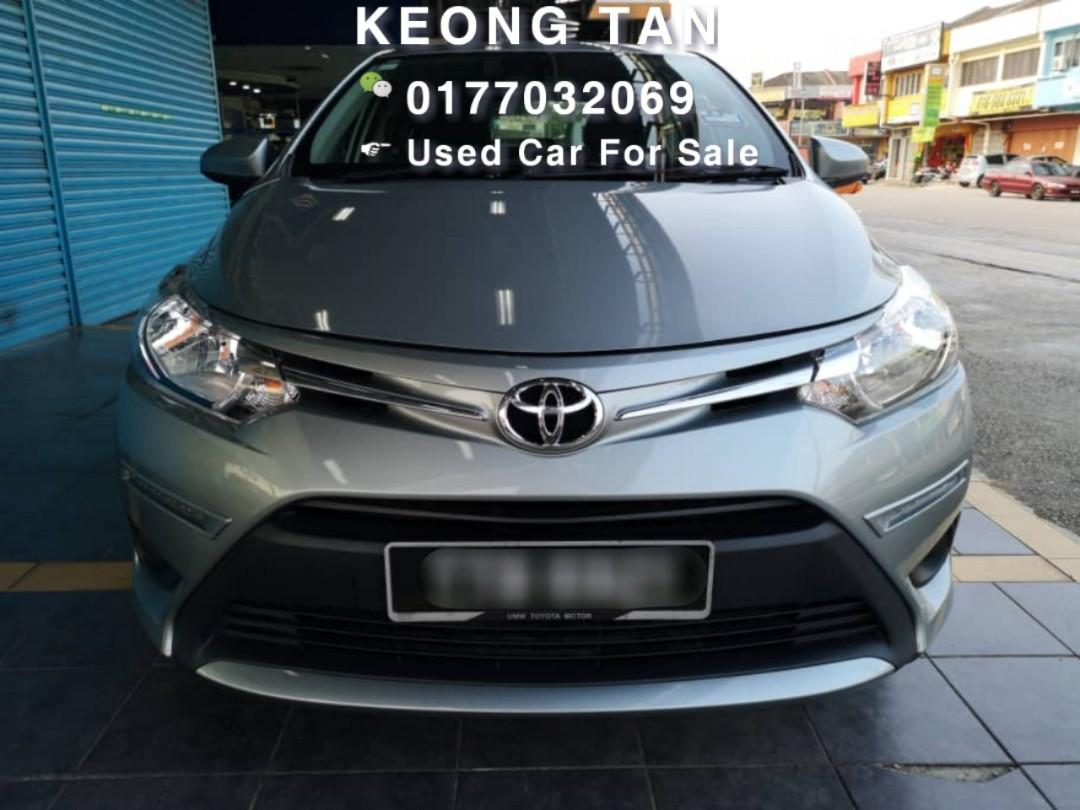 TOYOTA VIOS 1.5AT J SPEC TipTop Facelift 2016TH🎉Low MILEAGE 6XXXXKM🚘Cash💰OfferPrice💲Rm51,800‼ Only💰LowestPrice InTown🎉