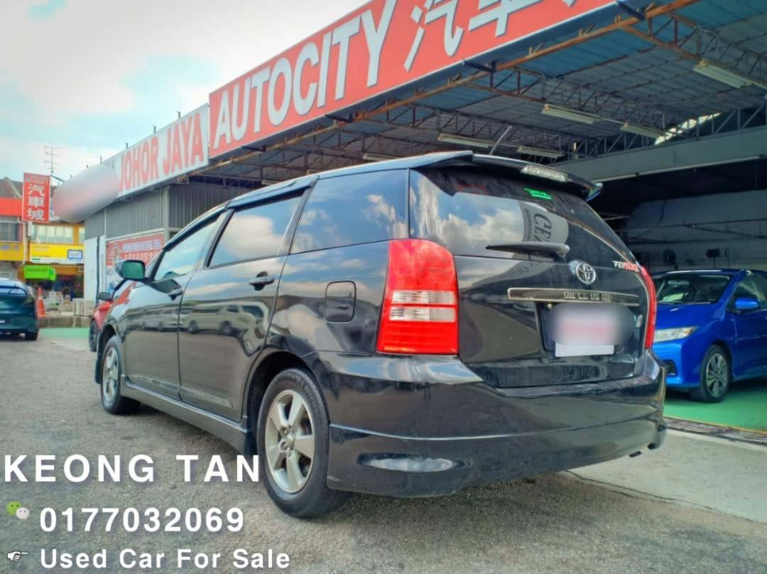 TOYOTA WISH 2.0AT 2005TH Mpv Carking🎉Jual Cash SHJ💰OfferPRICE : RM31,500 Only‼Interested Call📲Keong‼