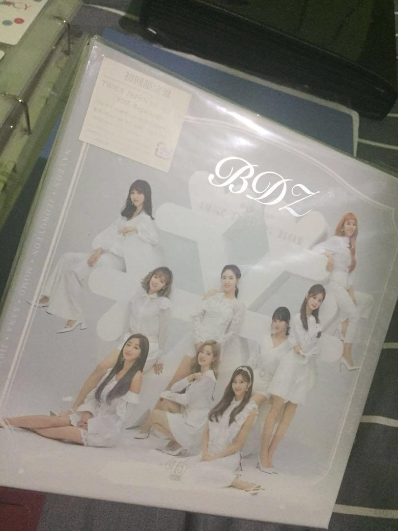 Twice BDZ repackage album First press limited edition