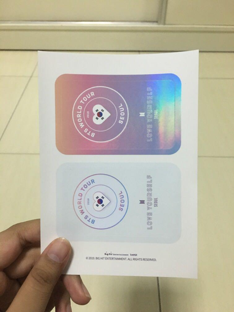 [WTS] BTS Love Yourself Tour Seoul (Bighit Official Special Gift)