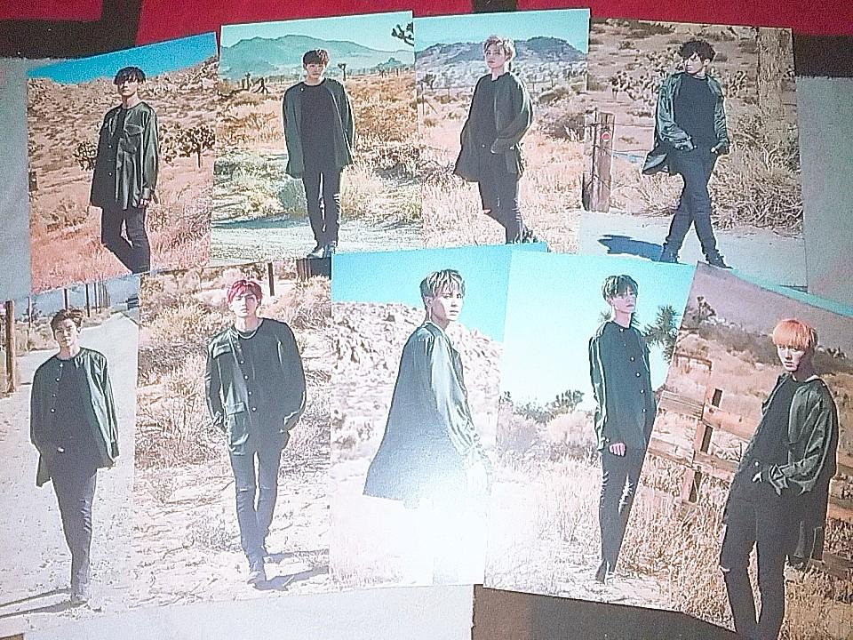 [WTS] SF9 OFFICIAL KNIGHT OF THE SUN POSTCARD ▶️ SUNSET VER.