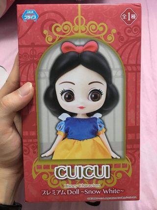 日本景品  白雪公主  人形擺飾