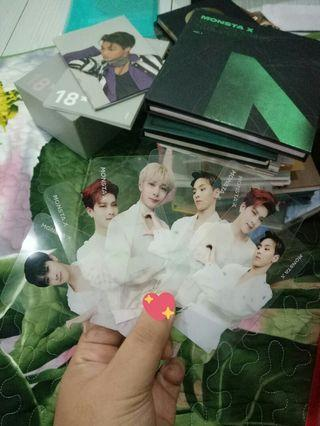 monsta x shownu jooheon hyungwon i.m we are here transparent pc