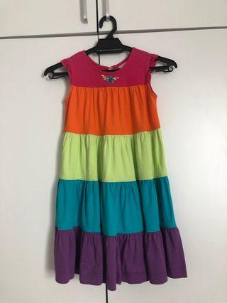 Tier colourful Dress