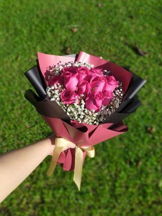 🚚 Graduation Bouquet Love | Fresh Bouquet | Graduation