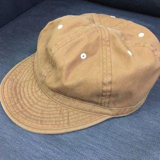 Vintage Brown duck work cap made in japan
