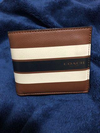 Coach 八卡皮夾+證件套