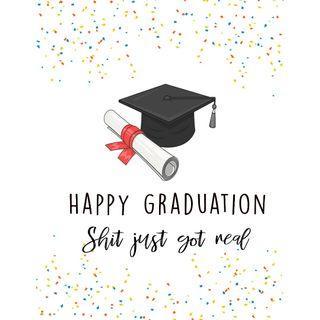 Graduation Card | Graduation Gift | Customised Card | Customise Card | Customized card