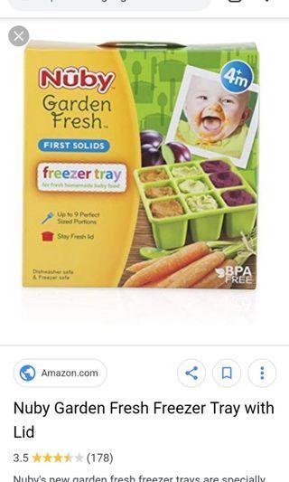 NUBY Freezer tray