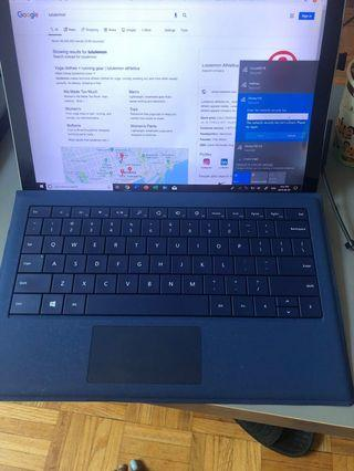 Surface Pro Signature Type Cover - blue