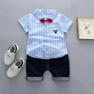 🚚 Summer Baby Boy Set